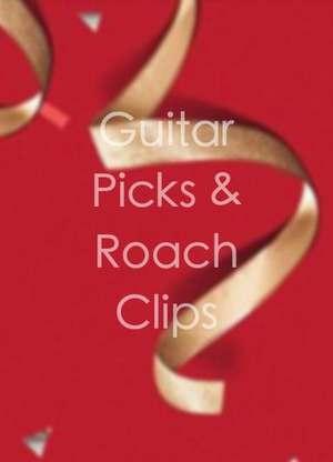 GuitarPicks&RoachClips
