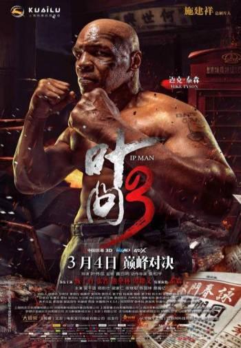世界级拳王泰森曾被武林世家甄子丹打骨折(叶问3)