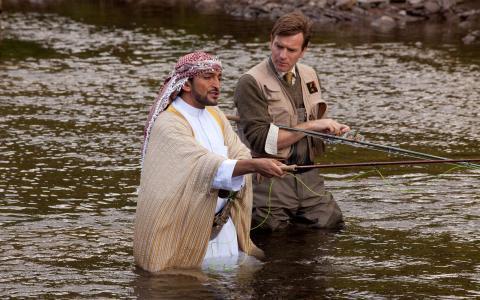 到也门钓鲑鱼电影壁纸,到也门钓鲑鱼图片,到也门钓鲑鱼剧照